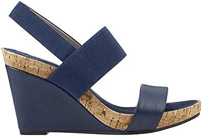 Aerosoles Womens Putnam Wedge Sandal