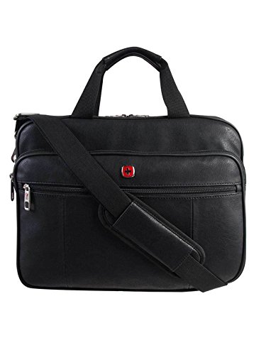 Leather Laptop Load Top (Swiss Gear Faux Leather Top Load 15.6