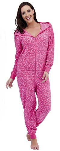 Tom Franks - Pijama - Manga Larga - para mujer leopardo