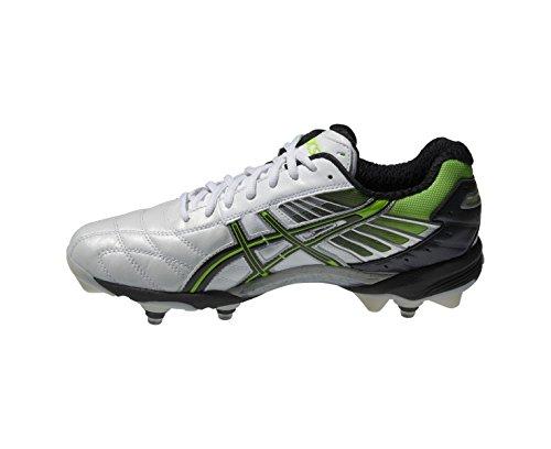 Botines de rugby con gel lethal hybrid 4 asics – AW15, hombre, blanco: Amazon.es: Zapatos y complementos