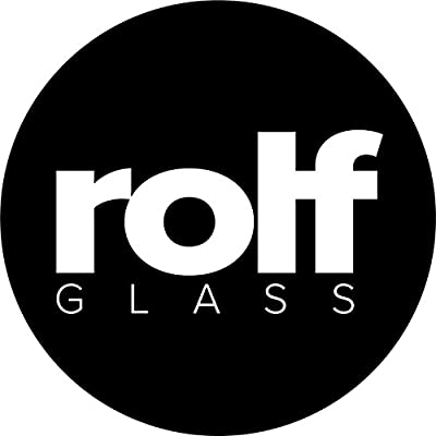 "Rolf Glass School of Fish Double Old Fashioned Glasses 4""H 14 Ounces Set of 4"