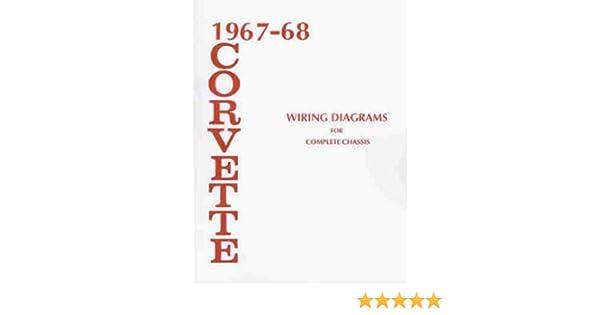 1967-1968 corvette wiring diagram manual reprint paperback – 1968