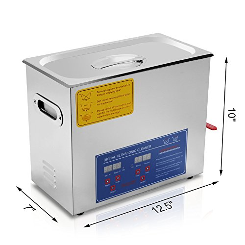 Superland 6L Commercial Ultrasonic Cleaner Professional for sale  Delivered anywhere in Canada