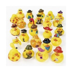 UPC 887600296954, 100 pc Mega Rubber Duck Ducky Duckie Assortment