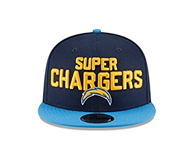 New Era Los Angeles Chargers 2018 NFL Draft Spotlight Snapback 9Fifty Adjustable Hat from New Era