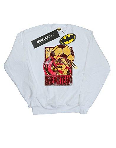 Dc Team Blanco Mujer Dream Entrenamiento Batman De Camisa Football Comics rZfqxXCwr