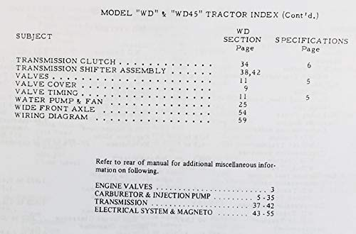Wd45 Tractor Wiring Diagram. Coleman Generator Wiring Diagram, Allis on