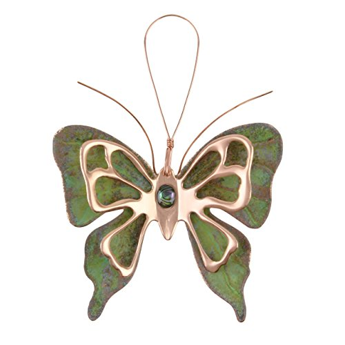 Dos Damas Designs Butterfly Copper Ornament (Butterfly Copper Hangers)