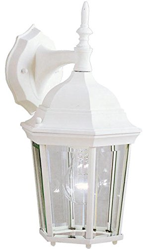 Kichler 9650WH Madison Outdoor Wall 1-Light, White by KICHLER (Image #2)