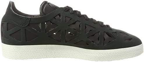 adidas Women's Low-Top Sneakers, Black Core Black Core Black Off White, 8 US
