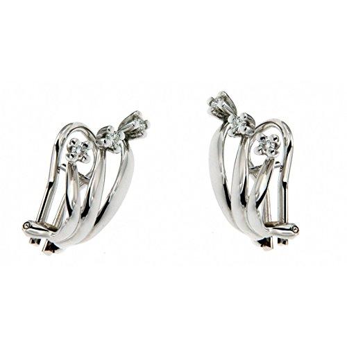 Boucles d'oreilles avec diamants Eternity-zq796/O045 Recarlo