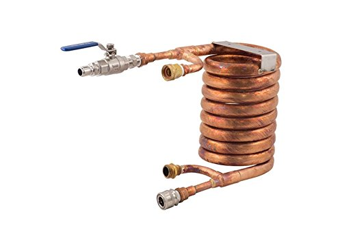 Counterflow Wort Chiller Assembly