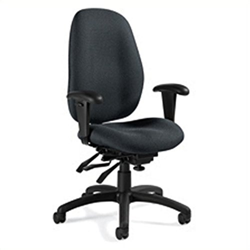 Global Malaga High Back Multi Tilter Office Chair in Graphite ()
