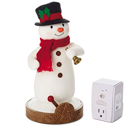 (HMK Hallmark Musical Tree-Lighting Snowman Receiver Snowmen)