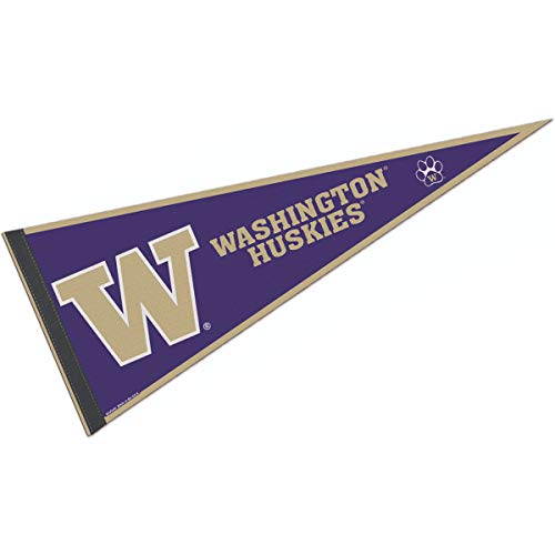 - College Flags and Banners Co. University of Washington Pennant Full Size Felt