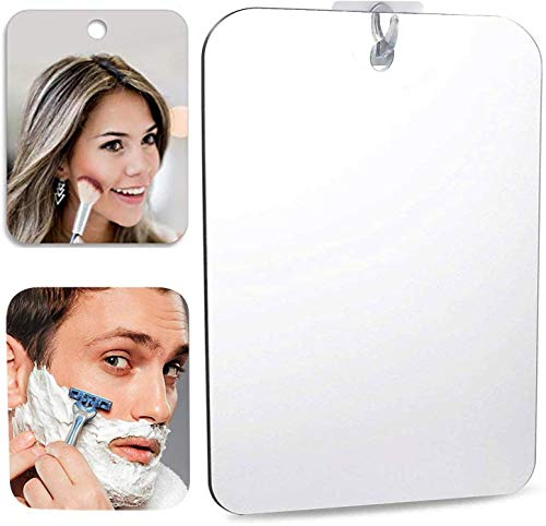 Espejo Grande de Maquillaje espejo bano antivaho Espejo de ducha afeitado Espejos para afeitado Espejos para bano espejo adhes