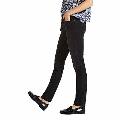 Wrangler 6R Nighttime Black Jeans Femme Noir rxPz1rvqwT