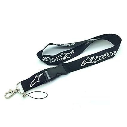 Alpinestars cordón llavero soporte negro con cierre de ...