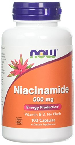 Niacinamide 500mg 100 Capsules Pack