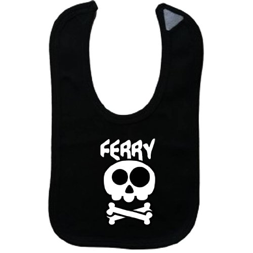 FERRY - Vintage Skull And Bones - Name-Series - Black (Vintage Ferry)