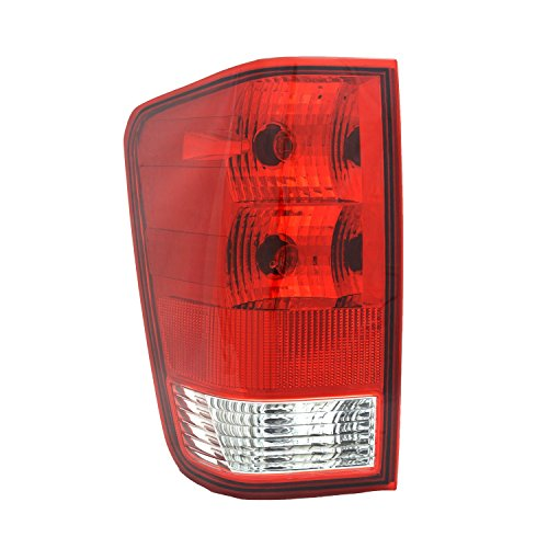 - TYC 11-6000-00-9 Nissan Titan Left Replacement Tail Lamp