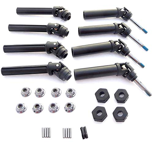 Traxxas 1/10 Stampede 4x4 XL-5 *FRONT & REAR DRIVE SHAFTS, HEX WHEEL HUBS & NUTS