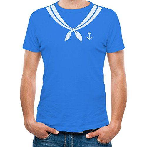 Bachelor Party Sailor Easy Halloween Costume Boating Men's T-Shirt Small -