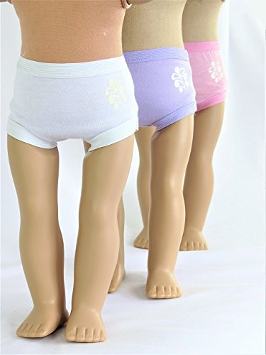 Assorted Panties Set- 3 Pack| Fits 18