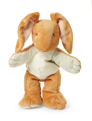 Guess How Much I Love You Rabbit - Guess How Much I Love You Nutbrown Hare Plush Hand Puppet, 12