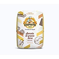 Antimo Caputo Semolina Flour 2.2 LB (Pack of 2) Bulk Italian Durum Semola Flour - All Natural Dough for Fresh Pasta