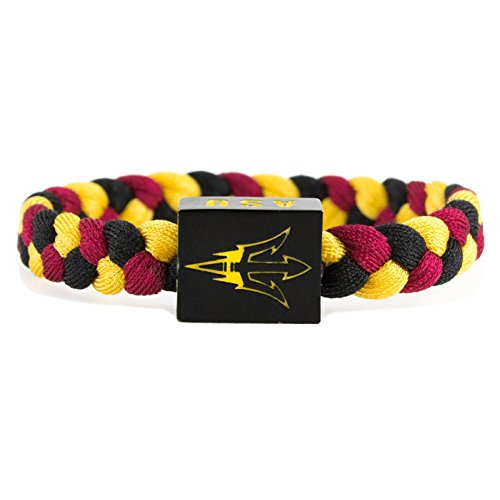 NCAA Game Day Nylon Woven Bracelet - Arizona State Sun Devils
