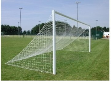 24ft x 8ft full size Senior straight back football goal post net By BSK