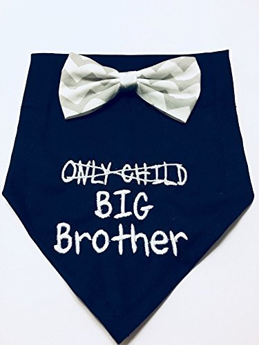 Gender Reveal, Dog Bandana, Only Child Big Brother, Pregnancy Announcement, New Baby, Fur Mom