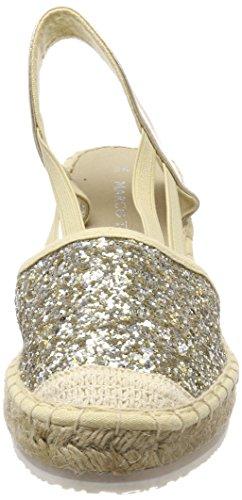 Marco Tozzi platinum Donna 29610 Comb Argento Espadrillas rq6UrxwPp
