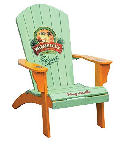 Margaritaville Outdoor Patio Wood Adirondack Chair, Tequila