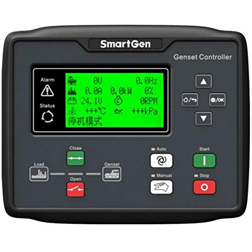 SmartGen HGM6110N Generator controller, Single unit automation + remote signal start/stop