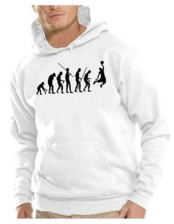 Coole-Fun-T-Shirts Sweatshirt Basketball-Evolution Hoodie, Sweat-Shirt  Homme  Amazon.fr  Vêtements et accessoires ba381f30c0cc