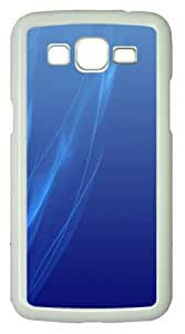 Samsung Galaxy Grand 2 7106 Cases & Covers -Blue abstract ID01 Custom PC Hard Case Cover for Samsung Galaxy Grand 2 7106¨C White