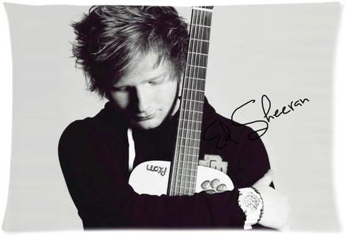 Cantante Ed Sheeran guitarra y firma personalizada Diseño Funda de ...