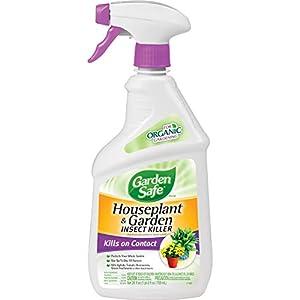 Garden Safe 80422 Houseplant and Garden Insect Killer, 24-Ounce Spray