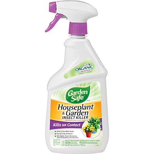 Garden Safe 80422 Houseplant and Garden Insect Killer, 24-Ounce Spray