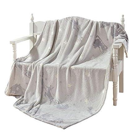 DECOSY Decorative Star Shining Throw Blanket - Glowing in The Dark –  Creative Flannel Plush Sofa 199cd2116