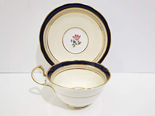 Aynsley Wadsworth Footed Cup & Saucer Set #7558