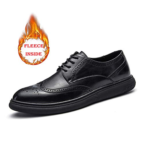 Oxford Business Scarpe Bottom Black Cricket Super Casual Uomo Shoes Regular Warm da Fine Warm Warm Brogue da Soft drqOUg0rw