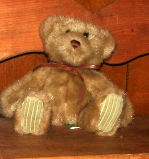 Minky Bear, 7 Inches Seated - light beige Plush Teddy Bear From First and Main