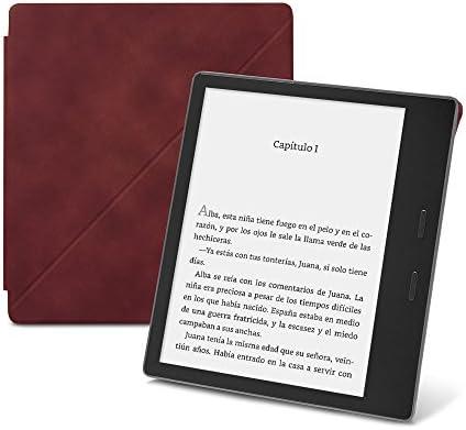 Amazon - Funda de cuero de alta calidad con soporte para Kindle ...