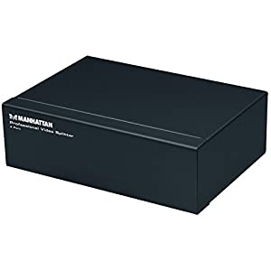 Manhattan 207348 Professional Video Splitter, 4 Port