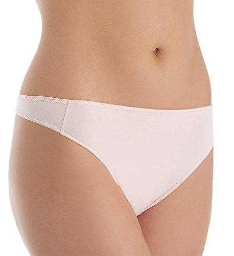 Elita The Essentials Cotton Mid Rise Thong (1200) L/Pale Blush ()