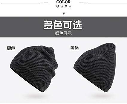 FuR7II@W 100/% Acrylic Acid Knitted Hat Curling Sport Winter Ski Cap for Men Women