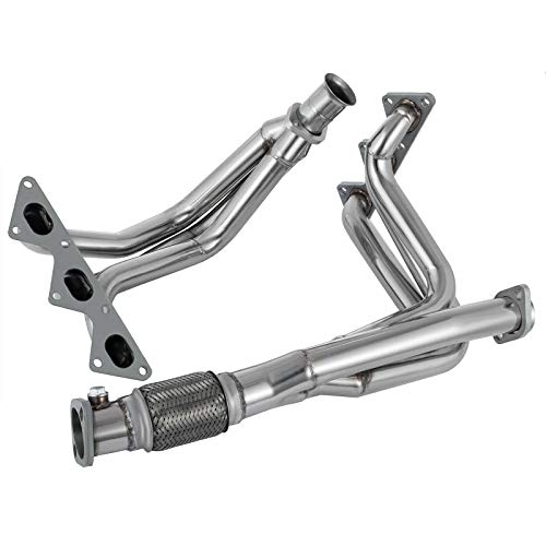 Mophorn Stainless Steel Exhaust Header For Mitsubishi 91-99 3000Gt Non-Turbo - 3000gt Non Turbo